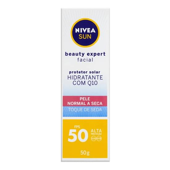 Imagem de Protetor solar facial nivea 50g fps 50 pele normal a seca