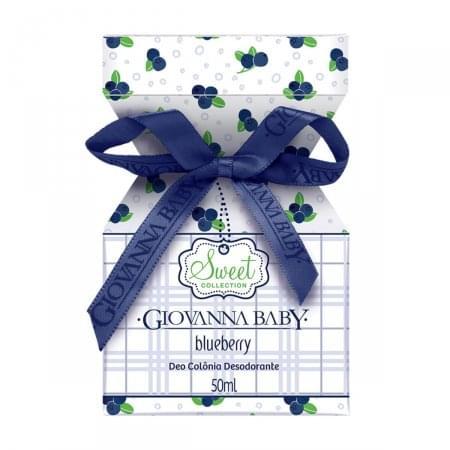 Imagem de Colônia desodorante giovanna baby 50ml blueberry