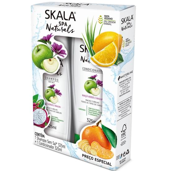 Imagem de Kit sh + co skala 325ml pitaya e verbena