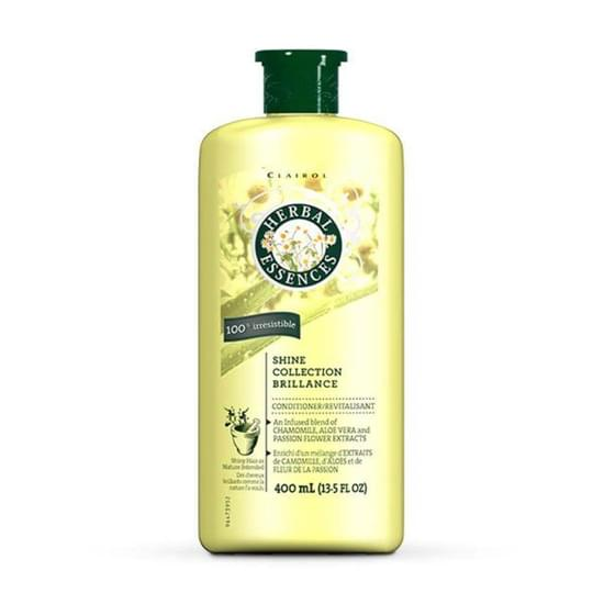 Imagem de Condicionador profissional herbal essences 400ml shine collection brillance