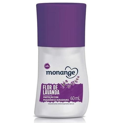 Imagem de Desodorante roll-on monange 60ml flor de lavanda