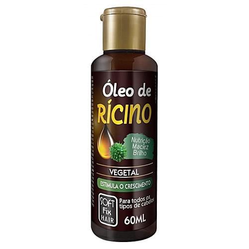 Imagem de Óleo capilar softfix 60ml ricino