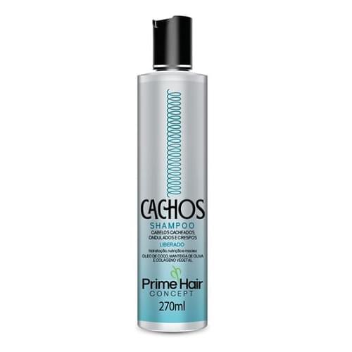 Imagem de Shampoo uso diário prime hair 270ml cachos