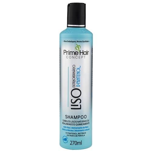 Imagem de Shampoo uso diário prime hair 270ml liso extraordinário
