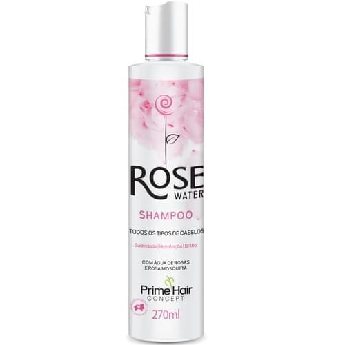 Imagem de Shampoo uso diário prime hair 270ml rose water