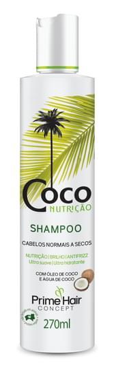 Imagem de Shampoo uso diário prime hair 270ml coco nutrição