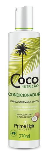 Imagem de Condicionador uso diário prime hair 270ml coco nutrição