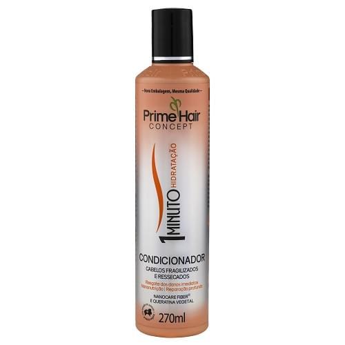 Imagem de Condicionador uso diário prime hair 270ml 1 minuto hidratação