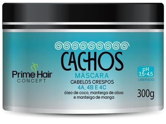 Imagem de Creme tratamento prime hair 300g cachos crespos