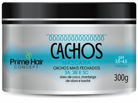 Imagem de Creme tratamento prime hair 300ml cachos mais fechados