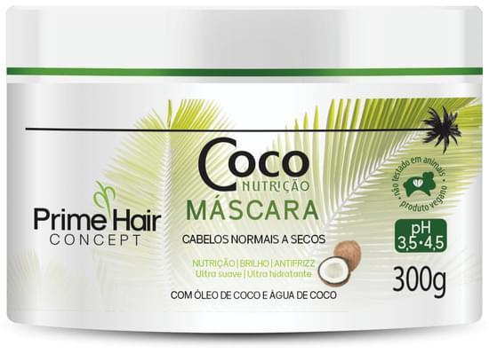 Imagem de Creme tratamento prime hair 300g coco nutrição