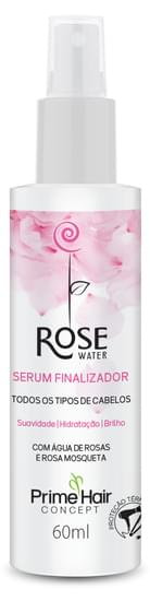 Imagem de Serum finalizador prime hair 60ml rose water