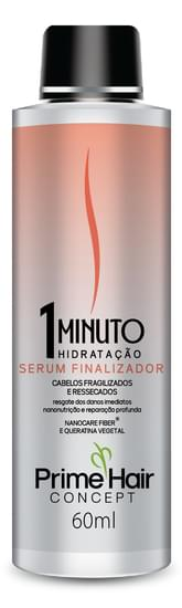 Imagem de Serum finalizador prime hair 60ml 1 minuto hidratação