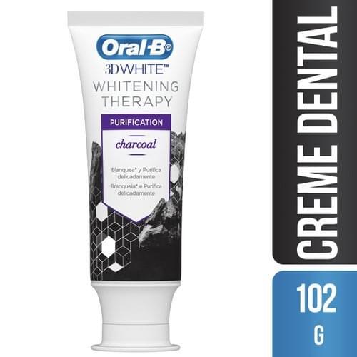 Imagem de Creme dental branqueador oral-b 102g purification