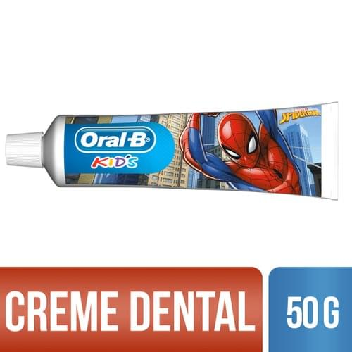 Imagem de Creme dental tradicional oral-b 50g kids spiderman