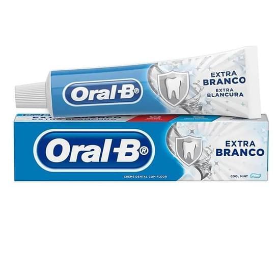 Imagem de Creme dental branqueador oral-b 70g extra branco