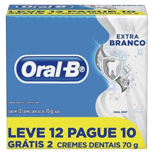 Imagem de Creme dental branqueador oral-b 70g extra branco l12p10