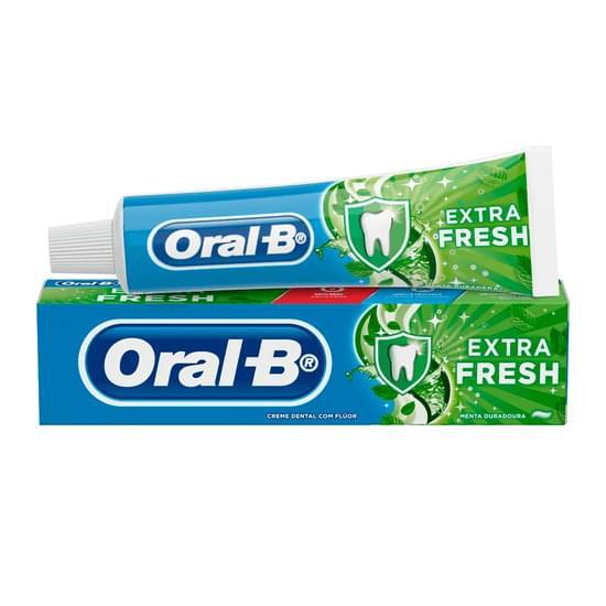 Imagem de Creme dental tradicional oral-b 70g extra fresh