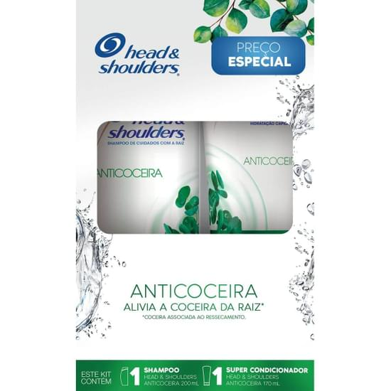 Imagem de Kit sh + co head  shoulders anti coceira