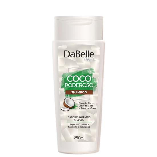 Imagem de Shampoo uso diário dabelle 250ml coco poderoso