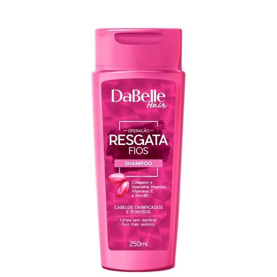 Imagem de Shampoo uso diário dabelle 250ml resgata fios