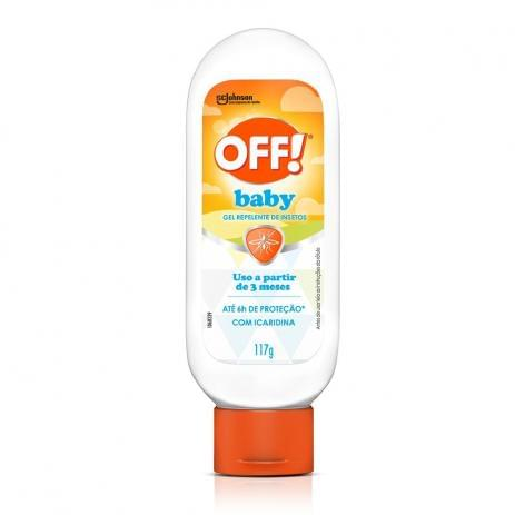 Imagem de Repelente gel off 117ml baby
