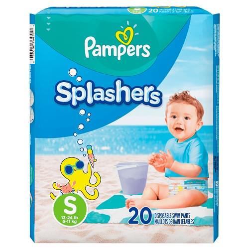 Imagem de Fralda infantil pampers splashers c/20 p
