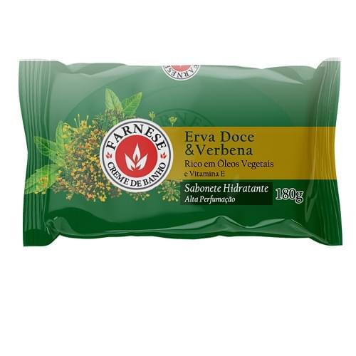 Imagem de Sabonete em barra uso diário farnese 180g erva doce