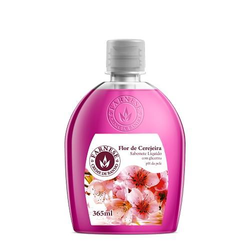 Imagem de Sabonete líquido uso diário farnese 365 ml flor de cerejeira