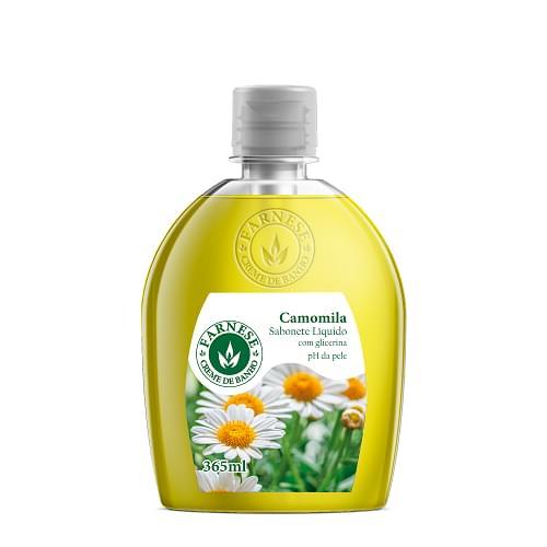 Imagem de Sabonete líquido uso diário farnese 365 ml camomila