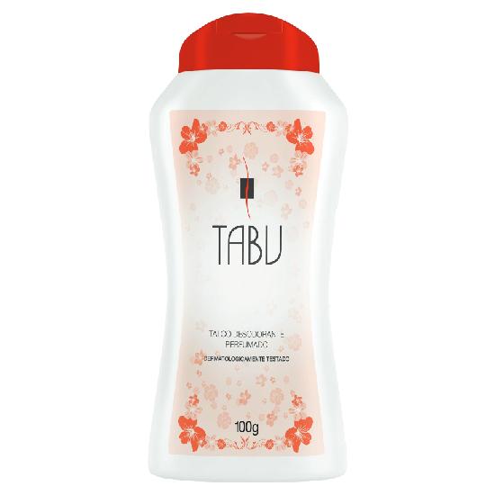Imagem de Talco perfumado tabu 100g tradicional