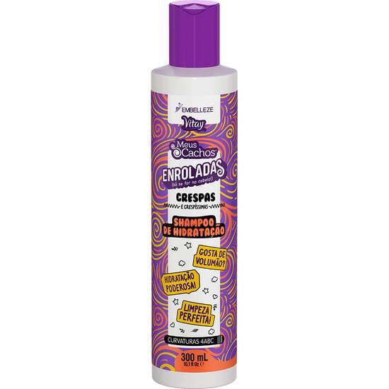 Imagem de Shampoo uso diário novex 300ml enroladas crespas