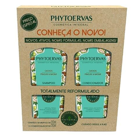 Imagem de Kit sh + co phytoervas 250ml cachos