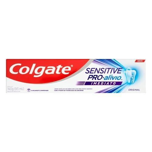 Imagem de Creme dental terapeutico colgate 140g sensitive pro alivio