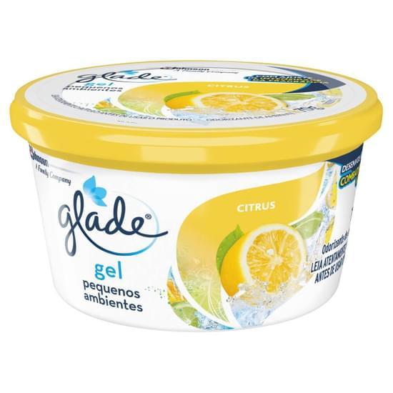 Imagem de Desodorizador de ar gel glade 70g citrus