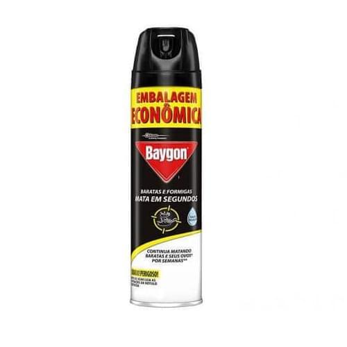 Imagem de Inseticida aerosol baygon 360ml baratas e formigas