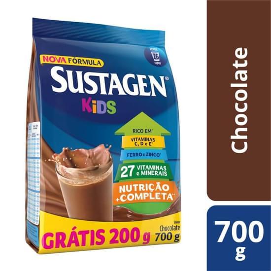 Imagem de Suplemento alimentar sache sustagen kids 700g chocolate gratis 200gr
