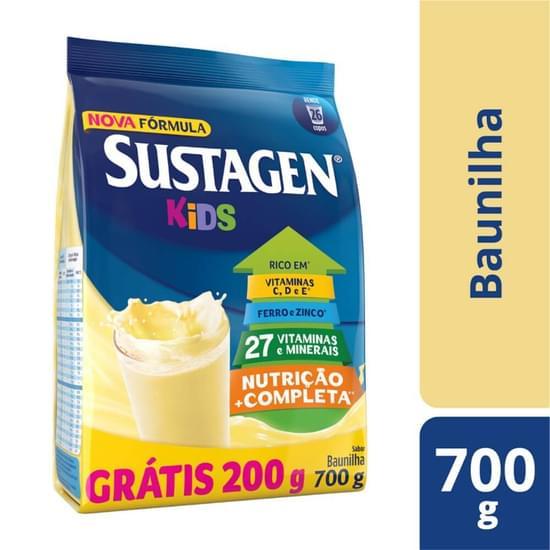 Imagem de Suplemento alimentar sache sustagen kids 700g baunilha gratis 200gr