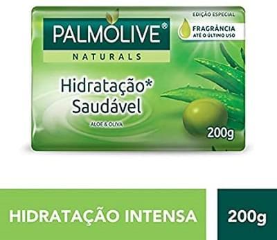 Imagem de Sabonete em barra uso diário palmolive 200g aloe e oliva