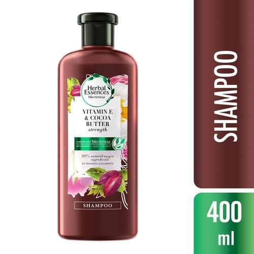 Imagem de Shampoo profissional herbal essences 400ml vitamin & cocoa butter