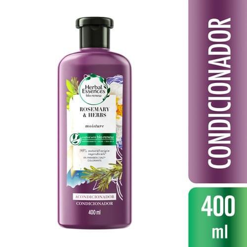 Imagem de Condicionador profissional herbal essences 400ml rosemary & herbs