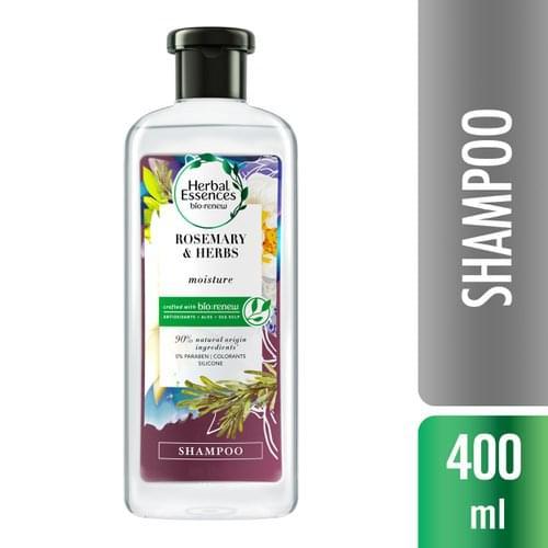 Imagem de Shampoo profissional herbal essences 400ml rosemary & herbs
