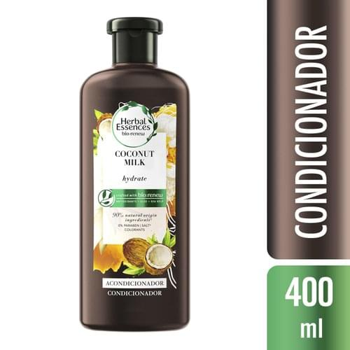 Imagem de Condicionador profissional herbal essences 400ml coconut milk