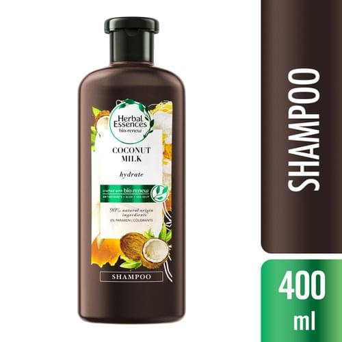Imagem de Shampoo profissional herbal essences 400ml coconut milk