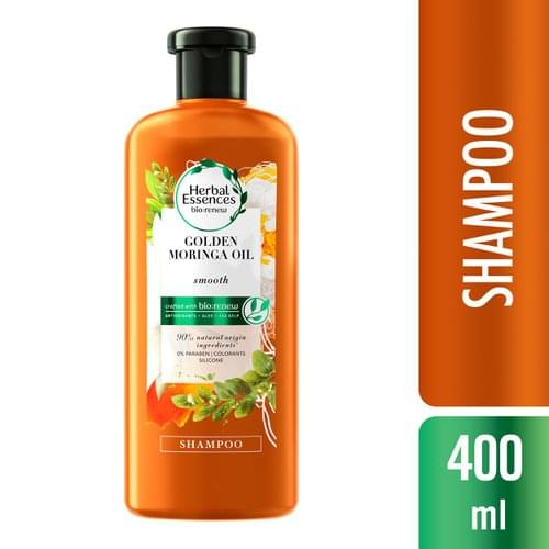 Imagem de Shampoo profissional herbal essences 400ml golden moringa oil