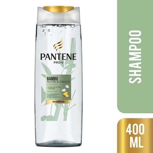 Imagem de Shampoo uso diário pantene 400ml bambu