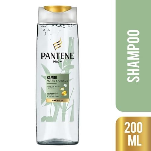 Imagem de Shampoo uso diário pantene 200ml bambu