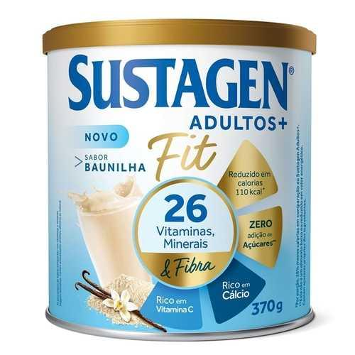 Imagem de Suplemento alimentar lata sustagen 370g fit baunilha