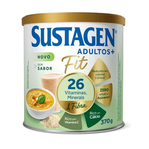 Imagem de Suplemento alimentar lata sustagen 370g fit sem sabor