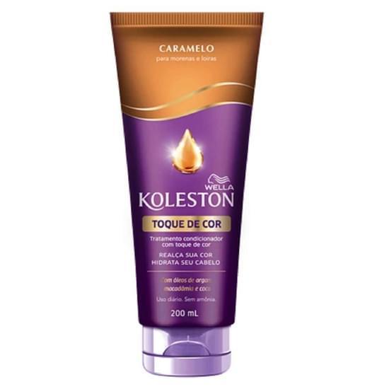 Imagem de Condicionador uso diário koleston 200ml toque de cor caramelo